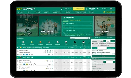 Betwinner mobi version.