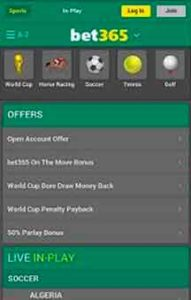 Bet365 app download on your Mobile
